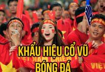 khẩu hiệu cổ vũ bóng đá