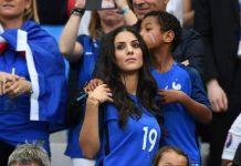 vợ ngôi sao bóng đá