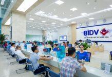 Làm thẻ ngân hàng BIDV