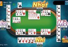 Game đánh bài trên facebook